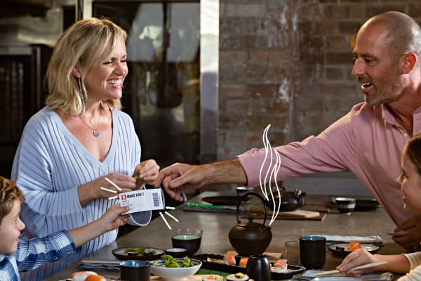 The best movie and dinner combo for your next family night
