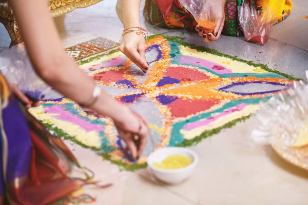 The importance of Rangoli
