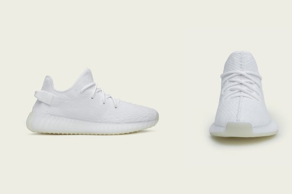 adidas: Yeezy 350 V2 triple-white launch