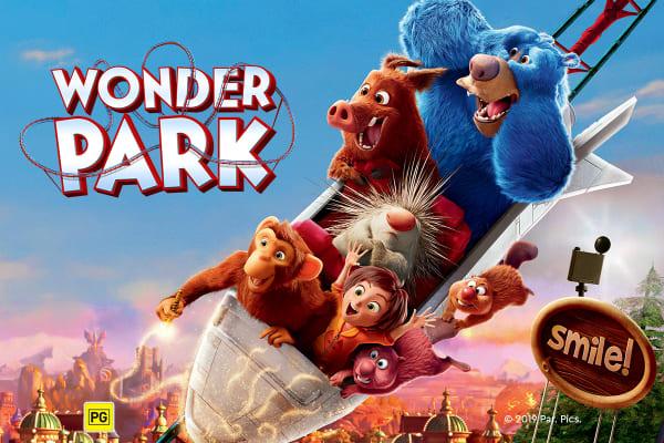 Meet the beavers of Wonder Park, in cinemas now