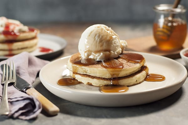 The Pancake Parlour: Short stack & tea or coffee for $10