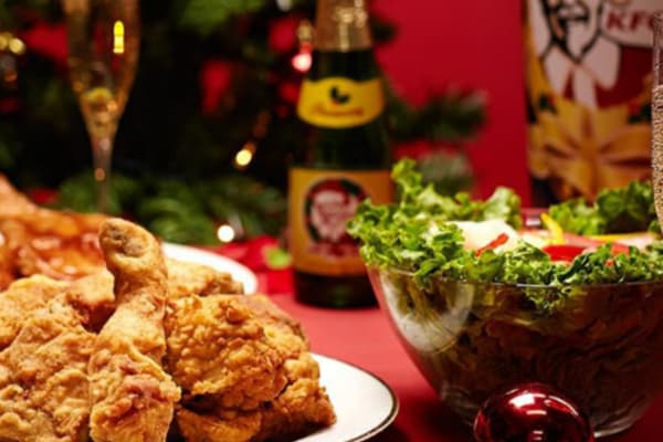 Win a $20 voucher from KFC this Christmas