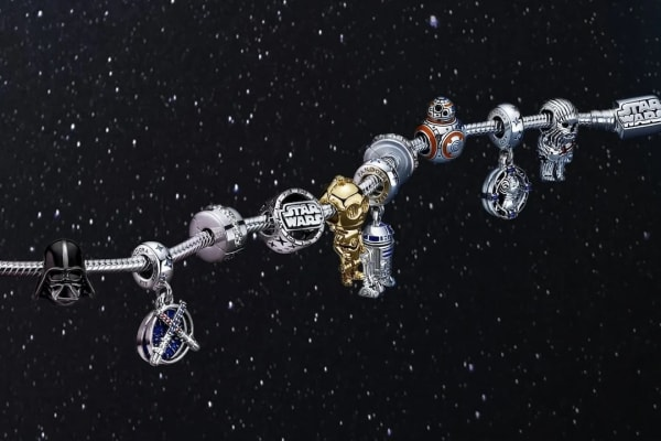 Pandora x Star Wars™ jewellery collection