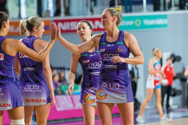 Meet players from the Queensland Firebirds at HCF