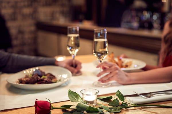 Get your bookings in for Valentine's Day