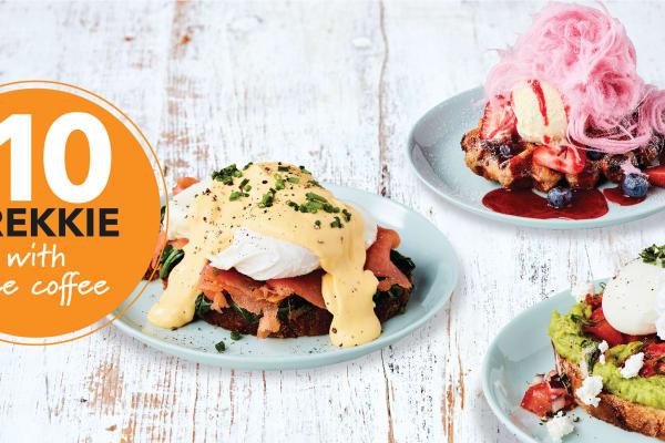 Rashays: Free coffee with $10 brekkie