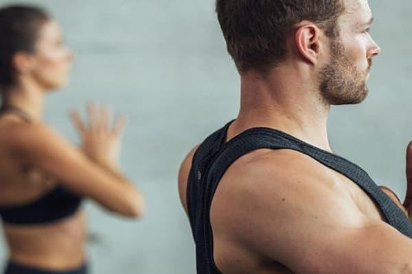 lululemon Monday morning yoga