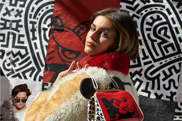 Coach Introduces Disney Mickey Mouse x Keith Haring