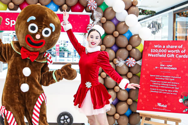 Make Christmas merrier this year at Westfield Chatswood