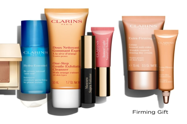Clarins: gift with purchase