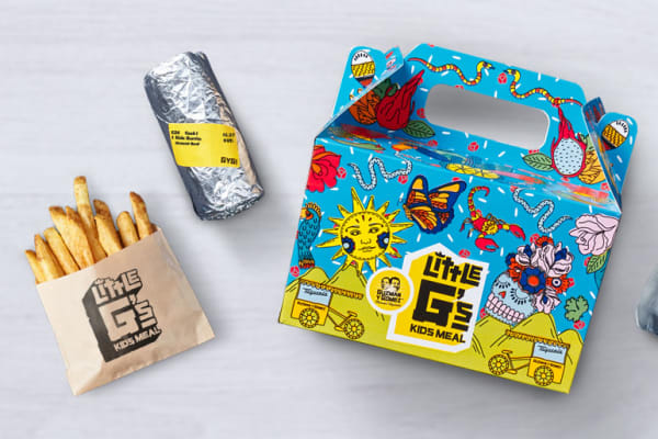 Guzman y Gomez:  Little G's kids meals have arrived