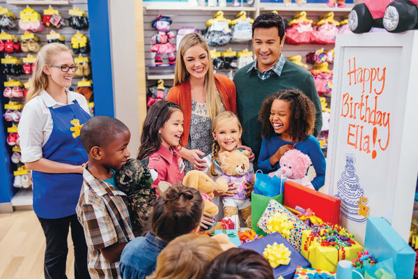 Build-A-Bear Workshop Party: free bear and sound
