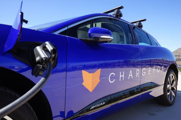 Chargefox opens powerful EV charging station