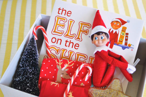How to create an adorable Christmas box for kids