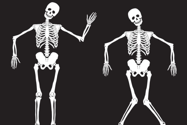 Receive free candy this Halloween from dancing skeletons!