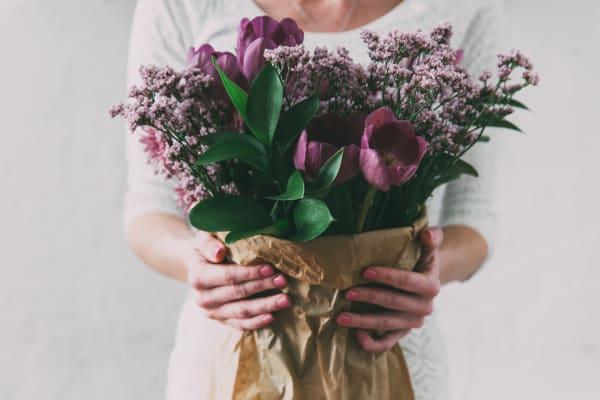 10% off bouquets and arrangements