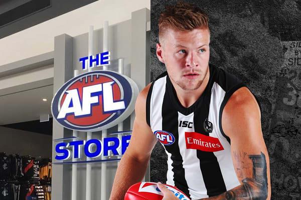 AFL Store: Jordan De Goey in store