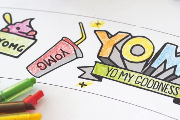 Kids Morning: DIY frozen yogurt cups with YOMG