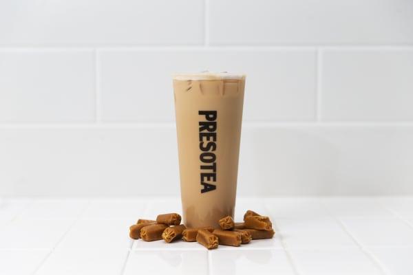 Presotea's new Toffee Tea range