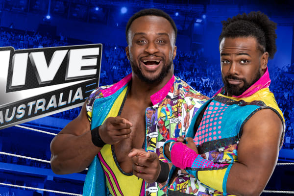Did you catch pancakes with Big E™ and Xavier Woods™?