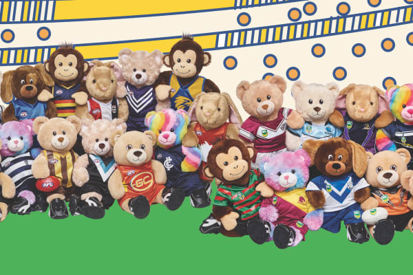 Build-A-Bear Workshop: AFL/NRL special offer