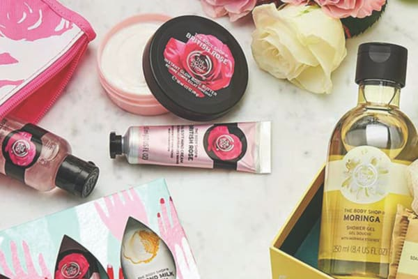 The Body Shop: pamper mum with 50% off your second gift