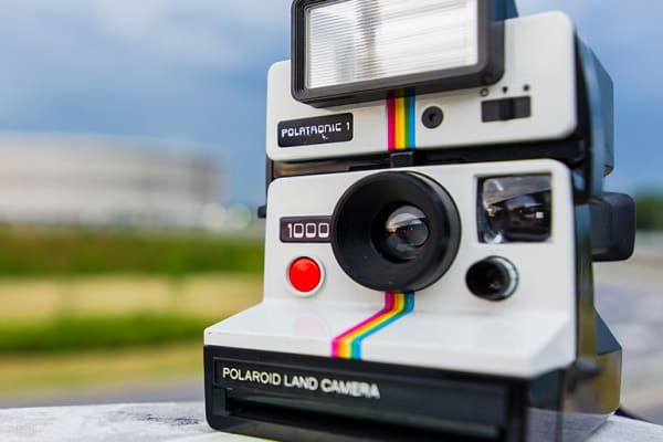 Taste. Shop. Play: Snap a Polaroid