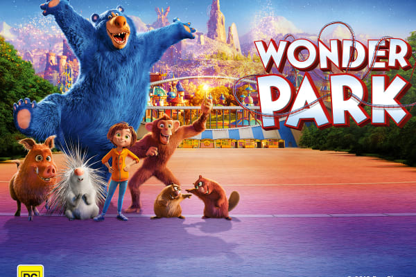 Get the family together for the must-see movie, Wonder Park