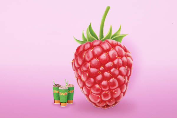 New Very Berry Raspberry smoothies now blending at Boost