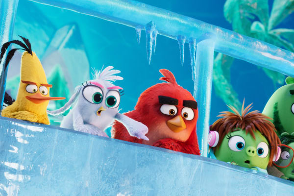 Win a family pass to The Angry Birds Movie 2