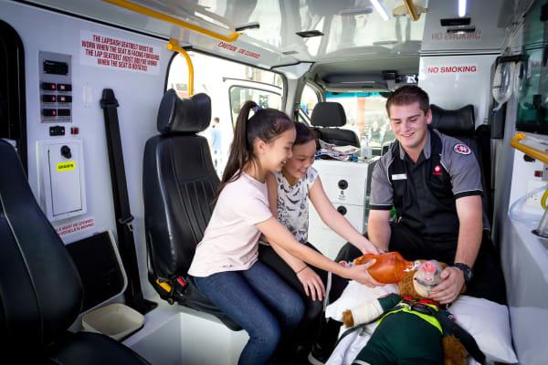 St John Ambulance interactive experience