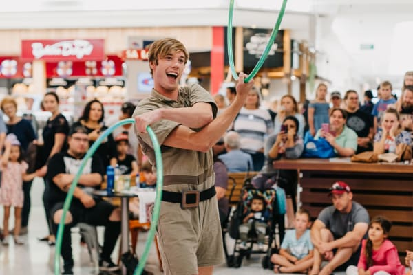 Book the kids in for a free circus workshop these school holidays