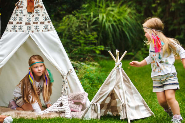 Adventure awaits kids at our Happy Campers Immersive Zone