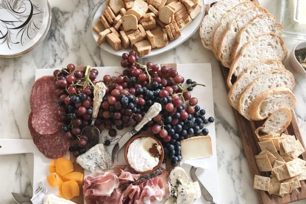 French inspired cheese board for Bastille Day