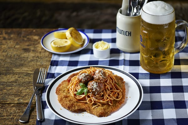 The Bavarian: new loaded schnitzels
