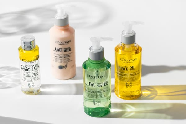 L'OCCITANE: New Infusions Collection cleansers