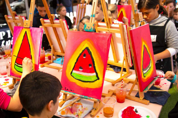 Pinot & Picasso Kids Painting Workshop
