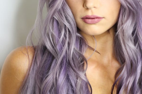 The lilac hair trend – are you game to try it?