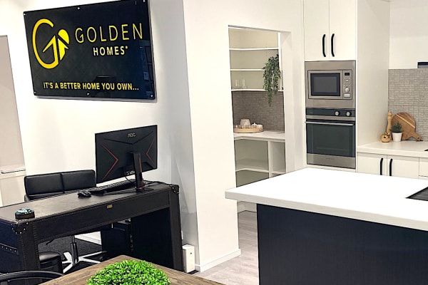 Golden Homes Pop-up show room