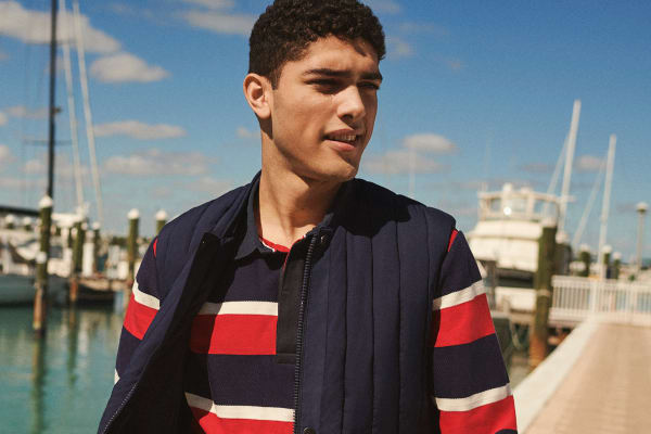 Tommy Hilfiger embroidery this Father's Day