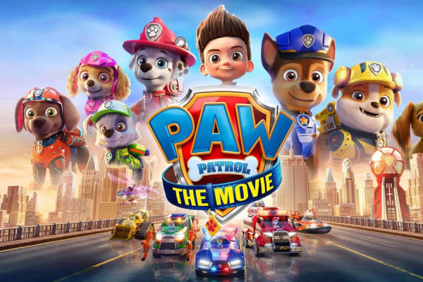 Win a PAW Patrol: The Movie Prize pack with Westfield Plus