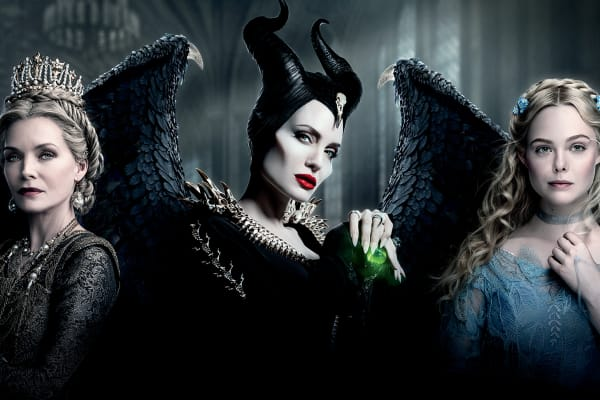 Disney's Maleficent: Mistress of Evil fashion installation