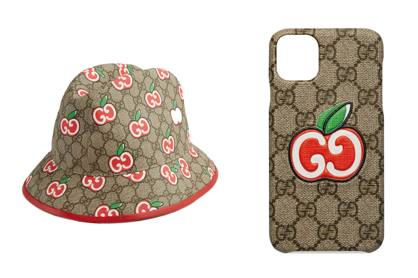 Gucci: Apple print collection for Chinese Valentine's Day