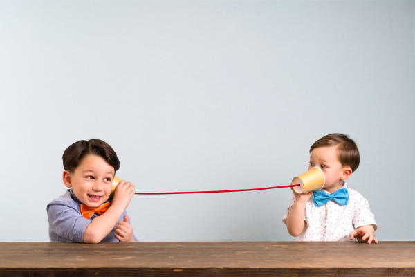 Kids Morning: Paper cup telephone craft with Vodafone