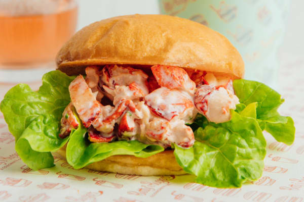 Betty's lobster roll now at Betty's Burgers