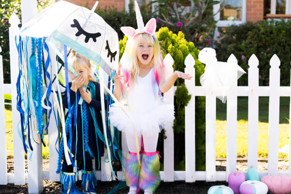 Three cute and easy DIY Halloween costumes for kids