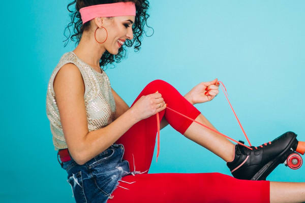 Taste. Shop. Play   Roaming rollerskating polaroid girls