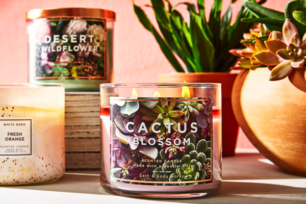Save on candles at Bath & Body Works
