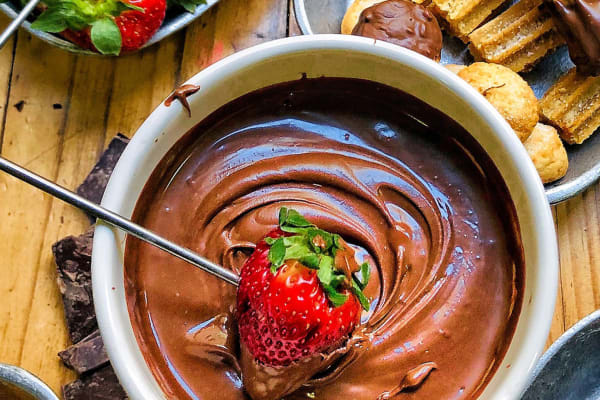 The chocolate fondue recipe you didn't know you needed