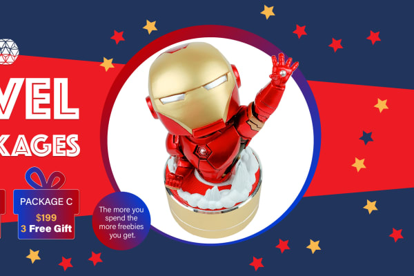 PTC Mobile Accessories: Marvel Fans Packages
